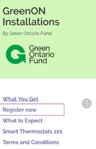 GreenON Register Now