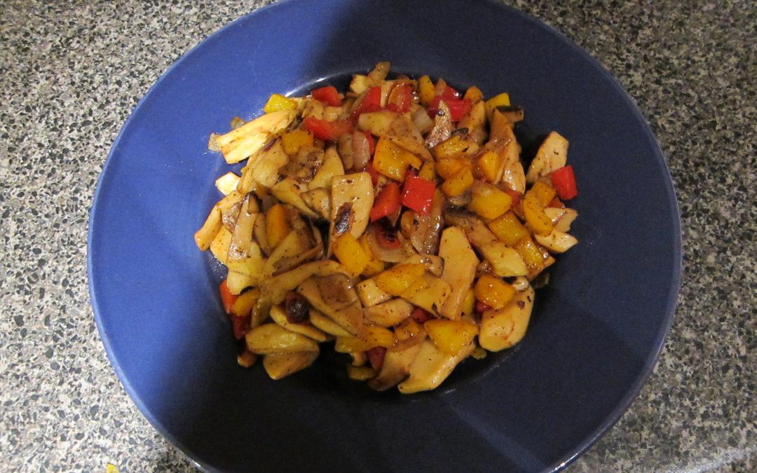 Stir-Fry Oyster Mushroom