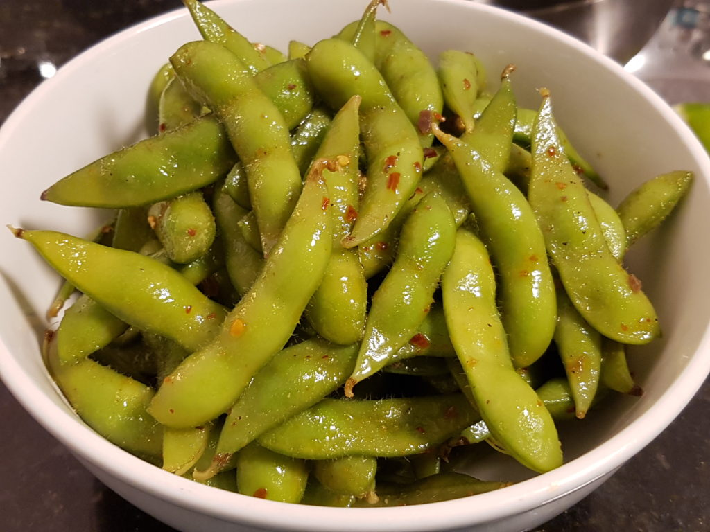 Chili and Lime Edamame - Best Healthy Snack