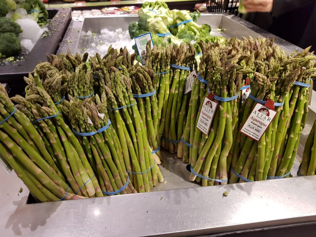 Asparagus at a Supermarket