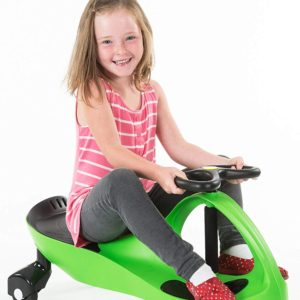 The Original PlasmaCar by PlaSmart – Lime – Ride On Toy, Ages 3 yrs and Up, No batteries, gears, or pedals, Twist, Turn, Wiggle for endless fun