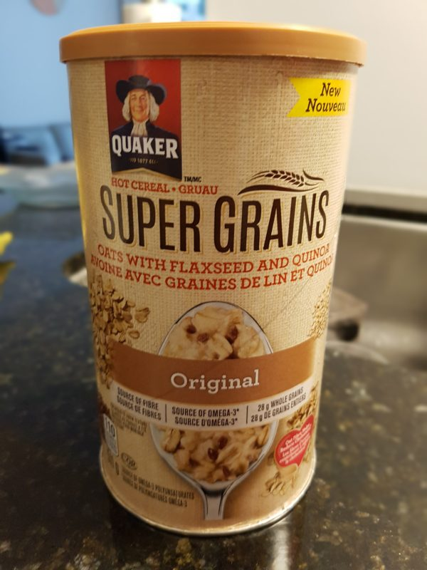 Quaker Oats with Flaxseed and Quinoa