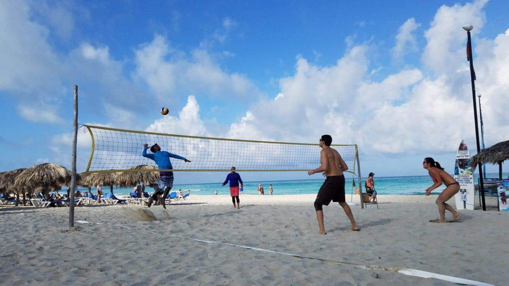 Beach Volleyball in Varadero, Cuba