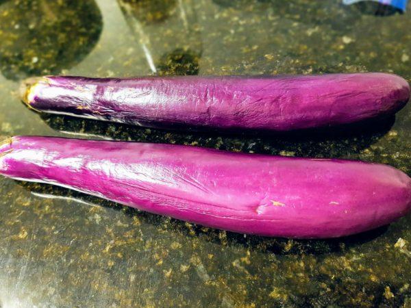 Asian Eggplant (aka Chinese Eggplant)