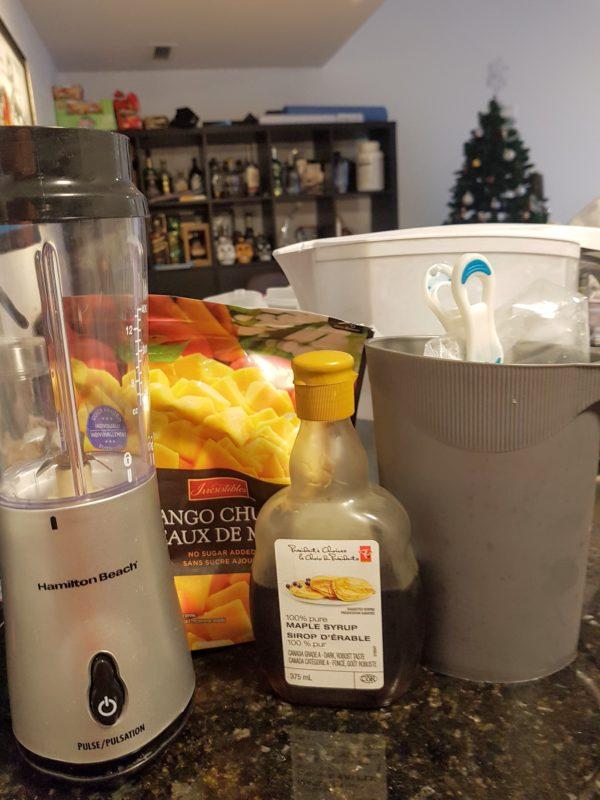 Mango Smoothie - 4 Ingredients and a Blender