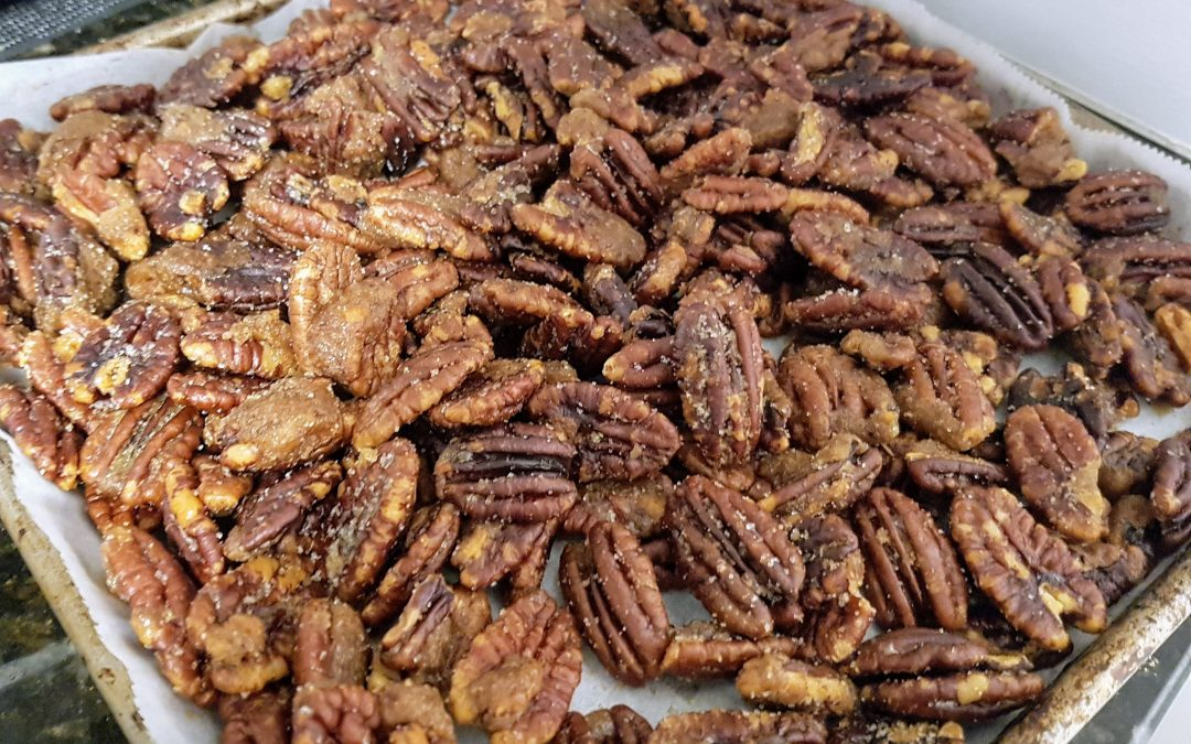 Home-Made Roasted Candied Pecans