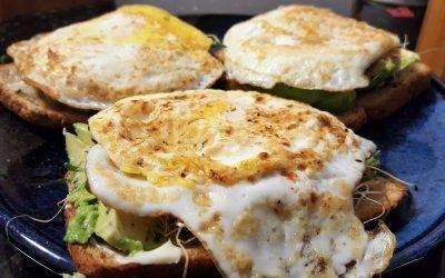 Avocado (Egg) Open-Faced Sandwich