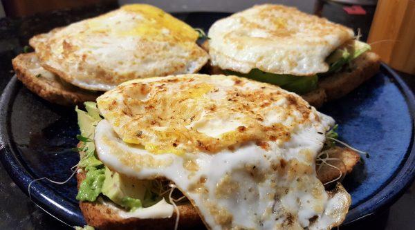 Avocado Egg Open-Faced Sandwich