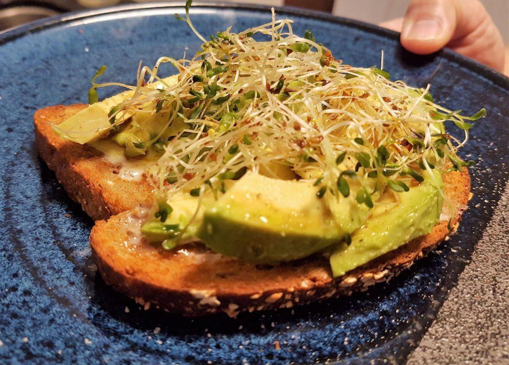 Avocado Open-Faced Sandwich