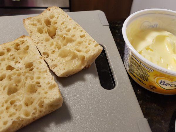 Ciabata Bun with Margarine