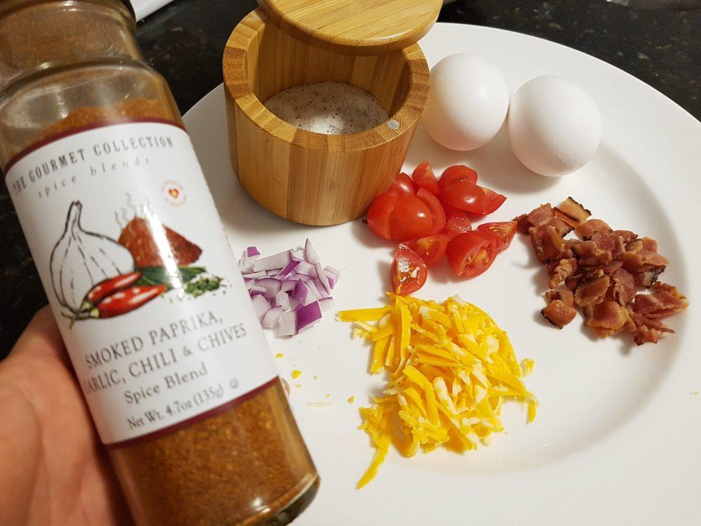 Ingredients for Omlette