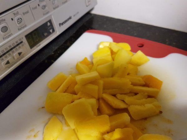 Frozen Mango Chunk