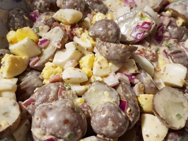 Bacon and Egg Potato Salad