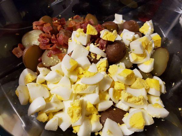 Potato Bacon Eggs