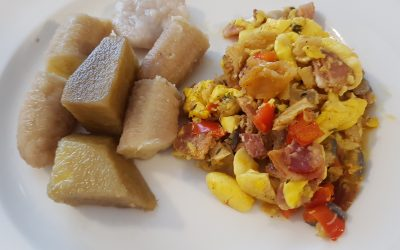 Ackee and Saltfish with Bacon – Jamaica's National Dish
