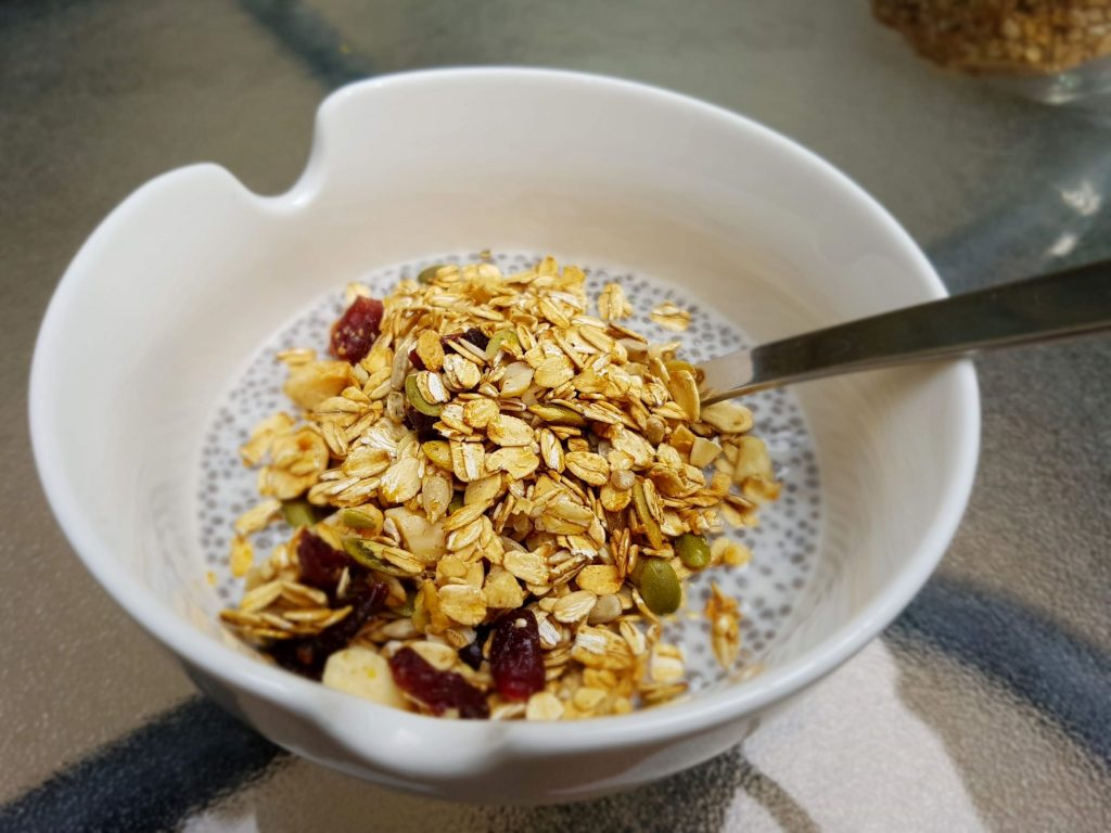 Chia Seed Pudding with Gourmet Granola