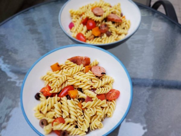 Best Grilled Sausage and Vegetable Pasta Salad