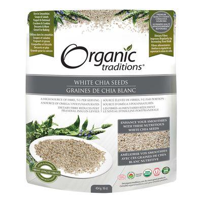 White Chia Seeds - Organic Traditions