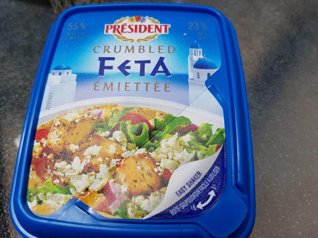 Feta Cheese for Refreshing Watermelon Salad Recipe