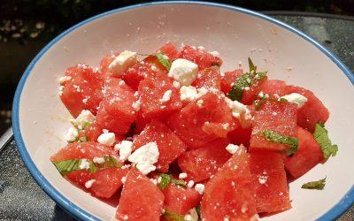 Refreshing Watermelon Salad Recipe