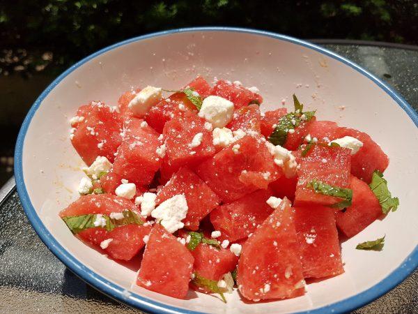 Best Refreshing Watermelon Salad Recipe