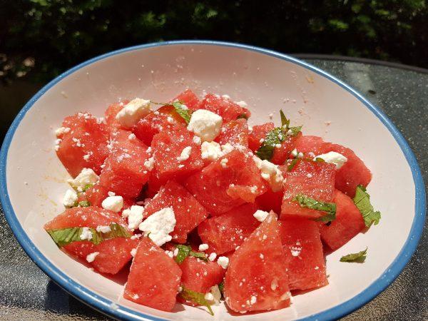 Best Watermelon Salad