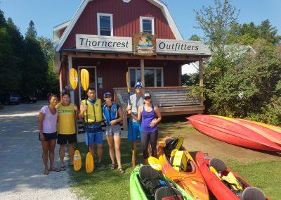 Exploring Tobermory - Kayak