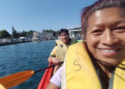 Kayaking in Tobermory
