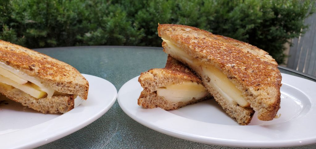 Best Apple Grilled Cheese Sandwich