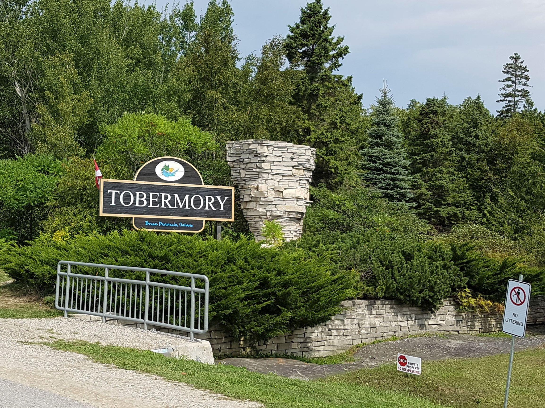 Exploring Tobermory, Ontario