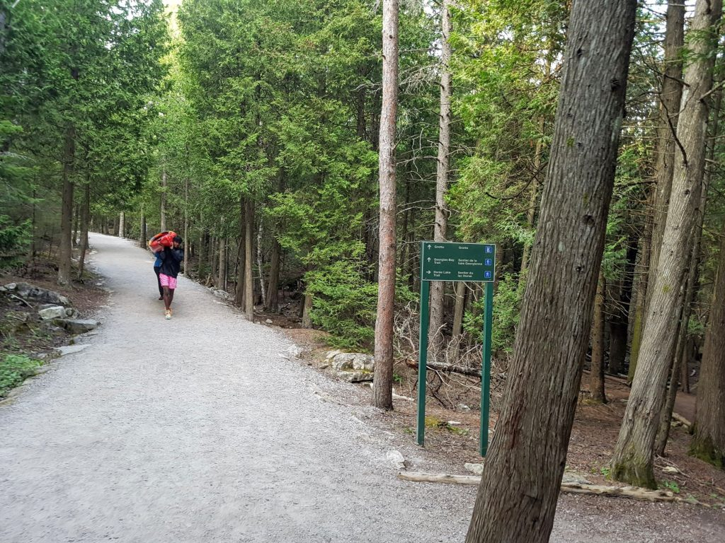 The Bruce Trail to the Grotto