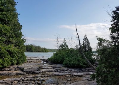 Hike to the Grotto - Tobermory