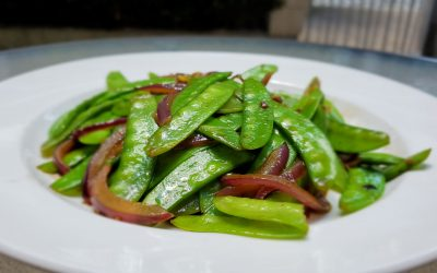 Easy Tasty Stir-Fry Snow Peas