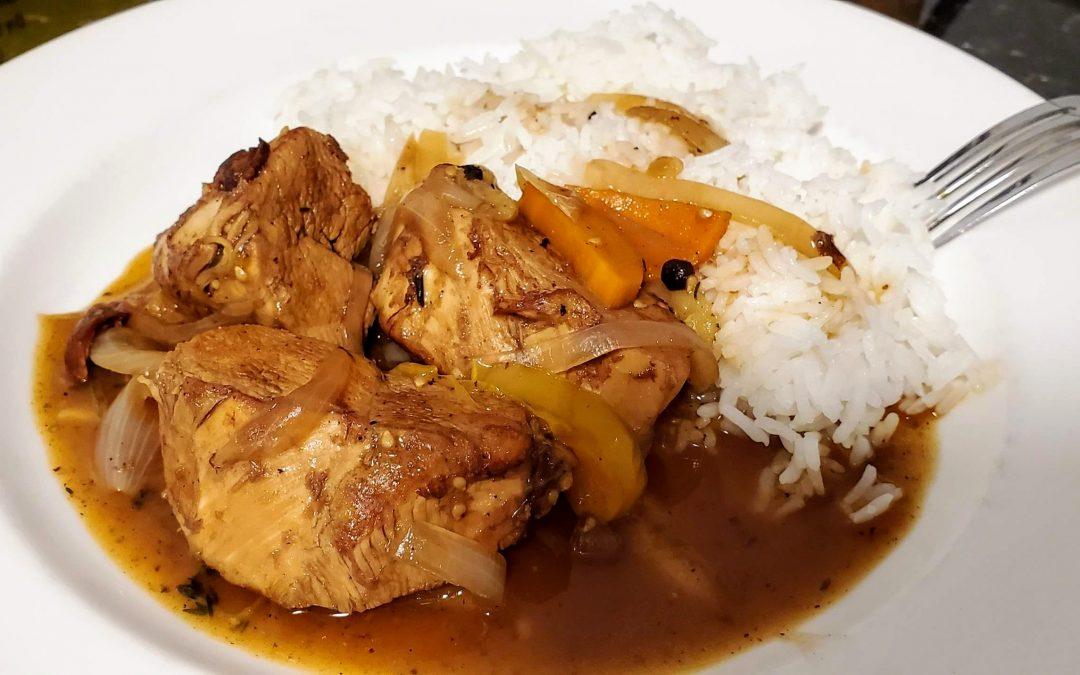 Fricasseed Chicken - Popular Jamaican Dish
