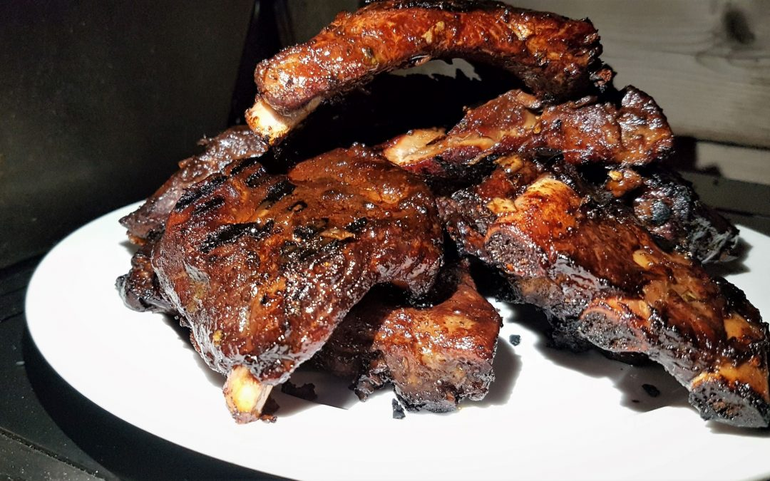 Fall-Off the Bone Kalbi Pork Ribs