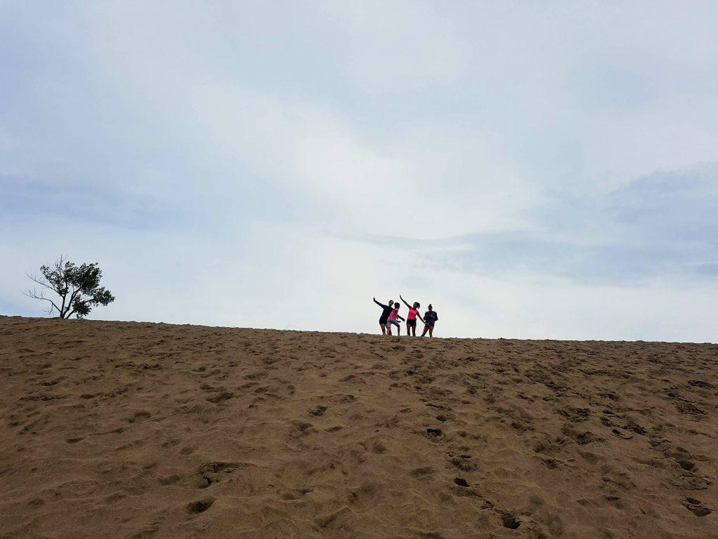 Exploring Sandbanks - Running up and down the hills