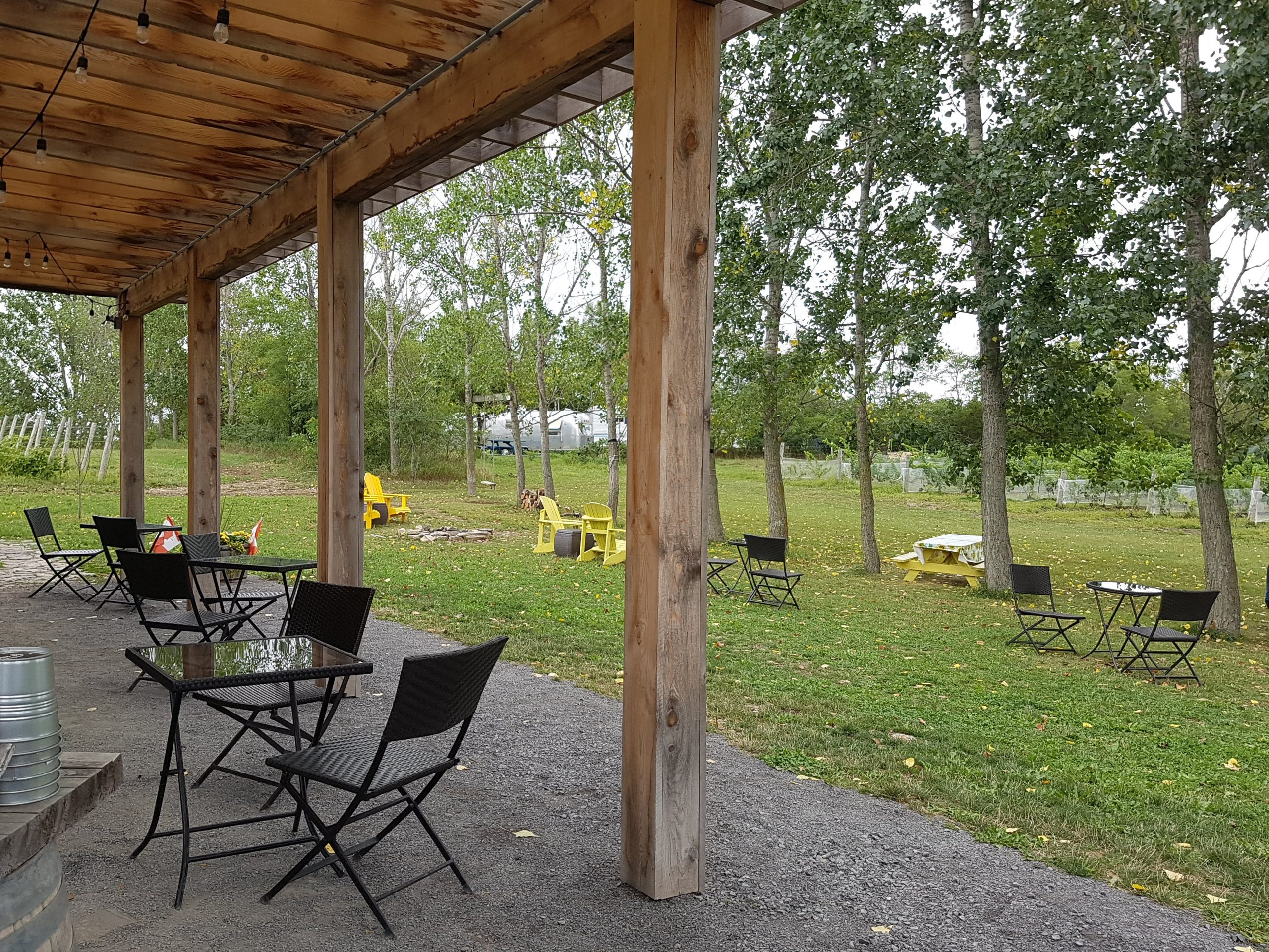Outdoor at Broken Stone Winery