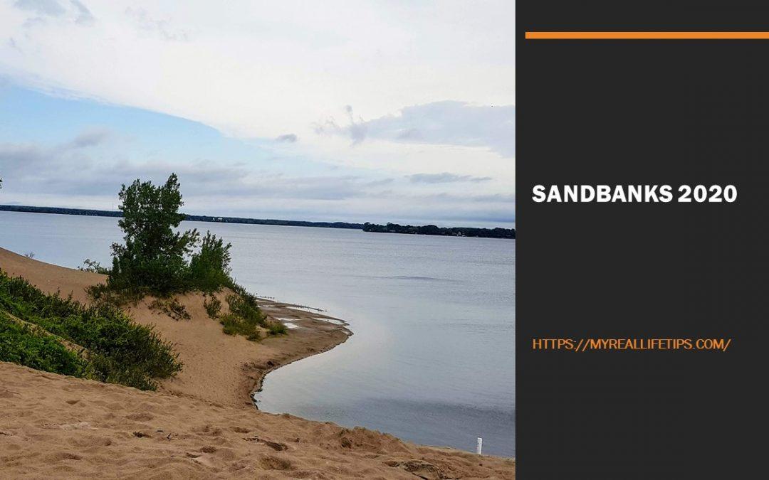 Exploring Sandbanks 2020