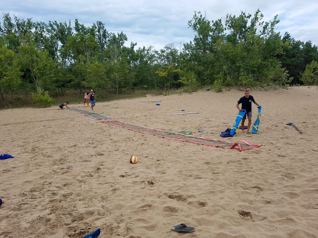 Volleyball Courts at Dunes Beach