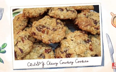 Crispy Chewy Cowboy Cookies Recipe