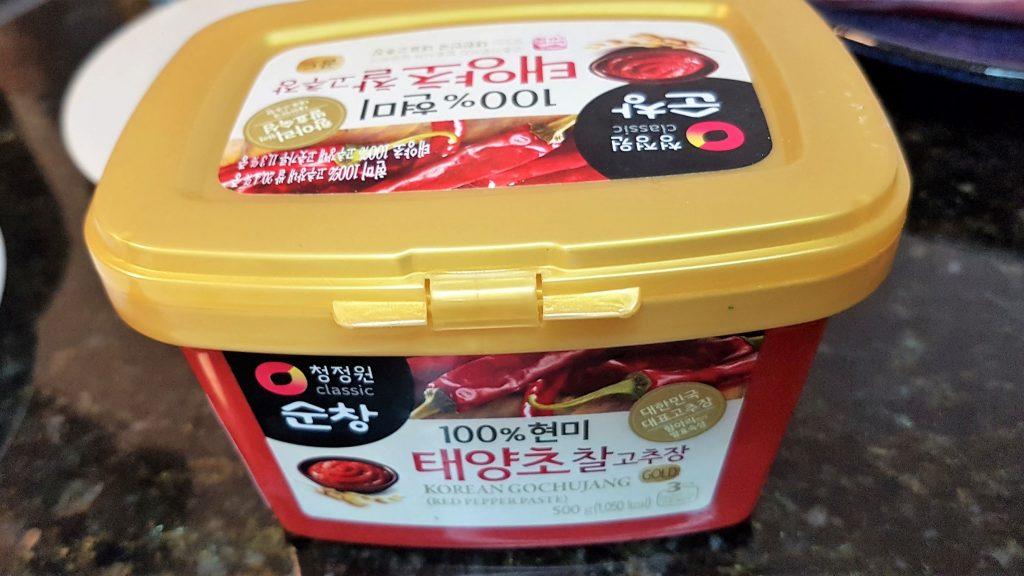 Korean Chili Paste (Gochuchang)
