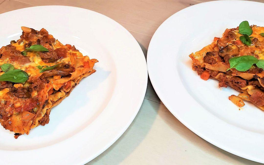 Easy Cheesy No-Boil Lasagna