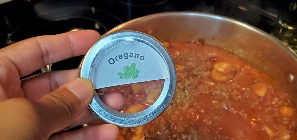 Add Oregano
