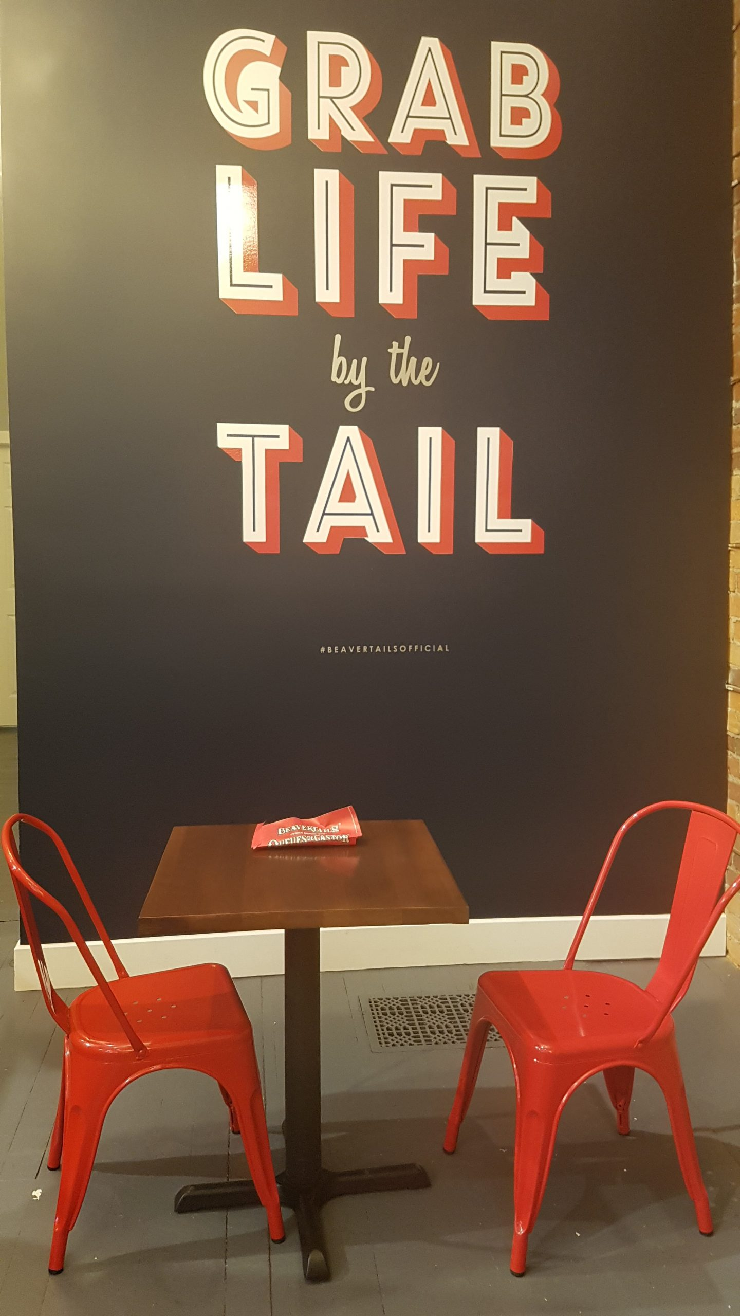 Grab Life By The Tail - Beavertails