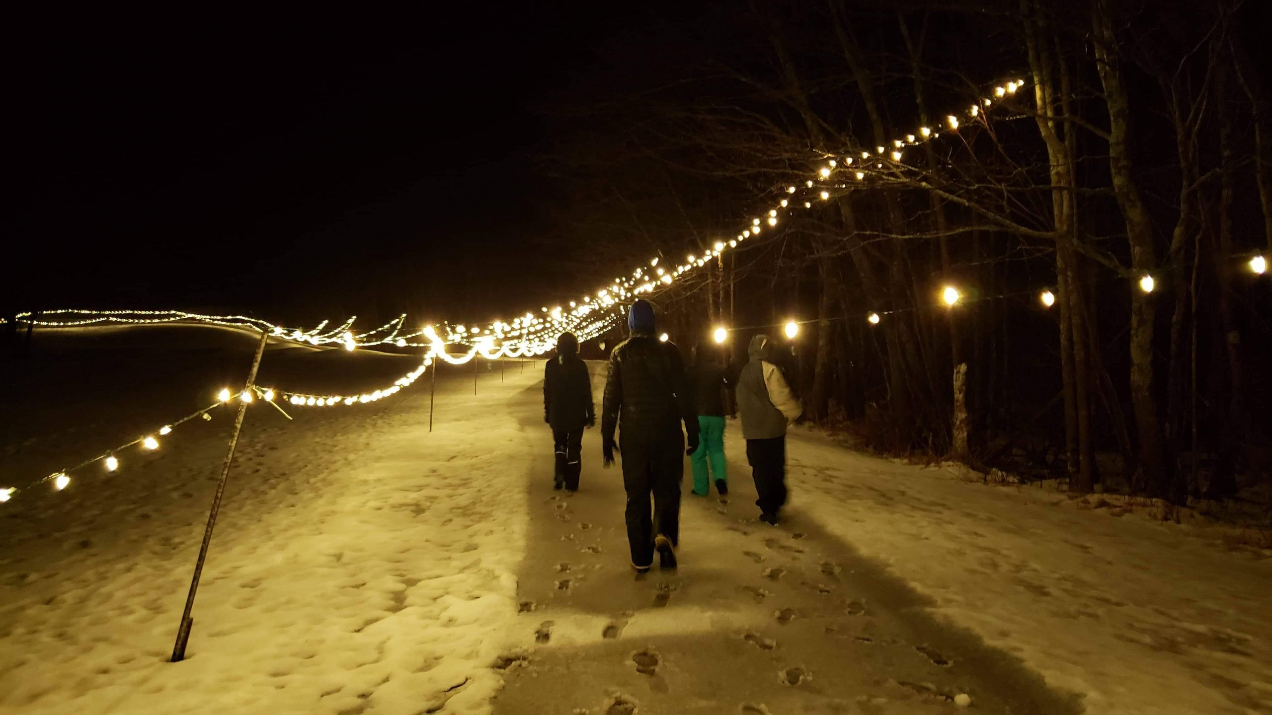 Exploring Deerhurst Resort, Muskoka:  Starlight Trail