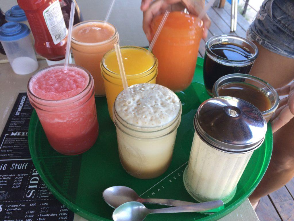 Best fruit smoothies in Tamarindo, Costa Rica