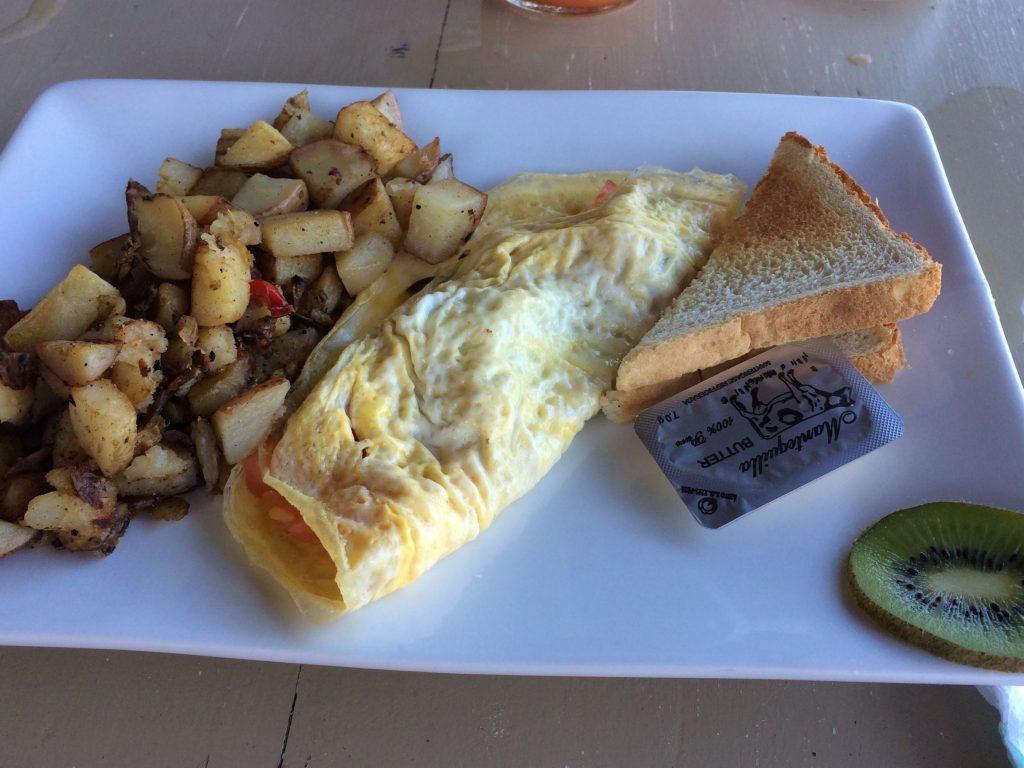 Breakfast Grinds in Tamarindo, Costa Rica