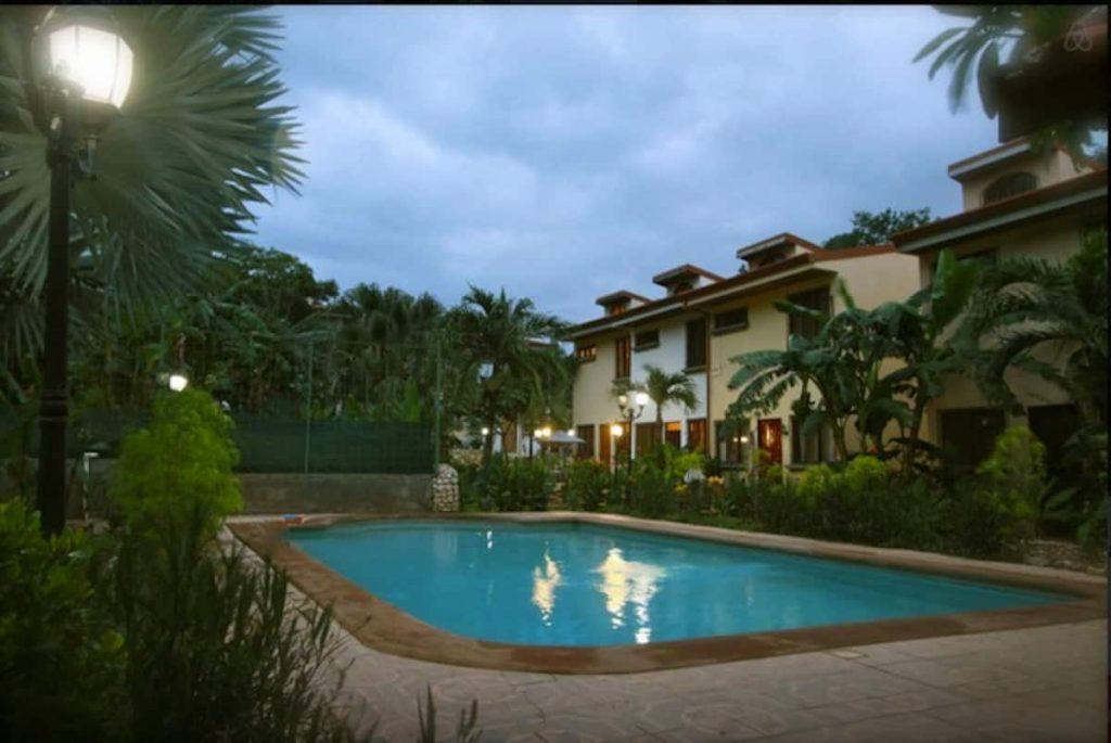 Community Pool at Airbnb Unit in Tamarindo, Costa Rica (Sol Sunshine)