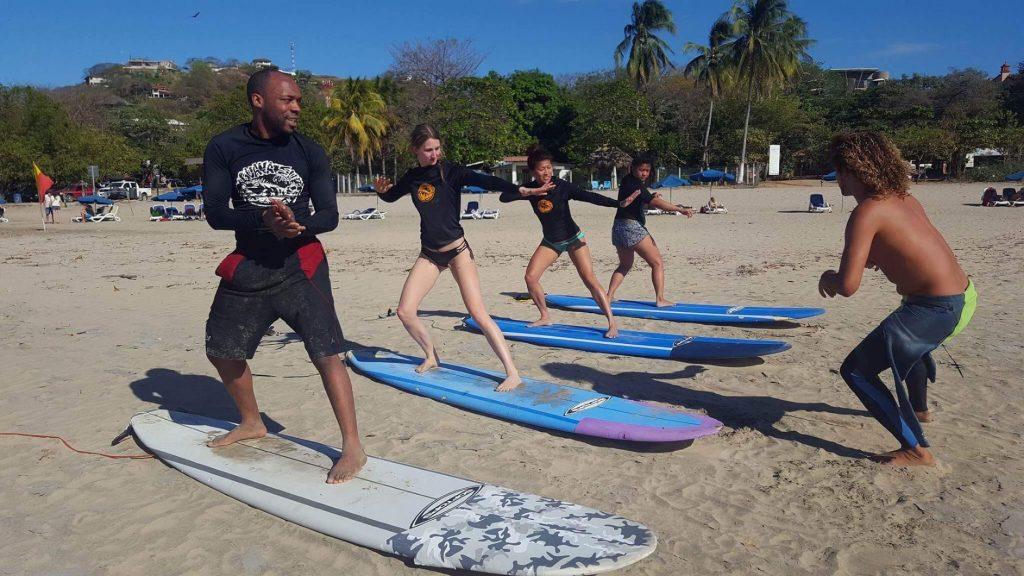 Surfing Lesson in Tamarindo, Costa Rica