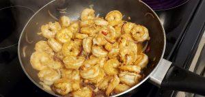 Stir-Fry Shrimp for the Stir-Fry Shrimp Ramen